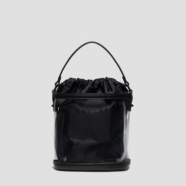 PU bucket bag with pouch - Replay FW3939_000_A0075_297_1