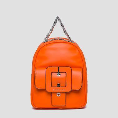Backpack with pocket and maxi buckle - Replay FW3943_000_A0284_194_1