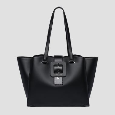Leather effect handbag - Replay FW3946_000_A0284_098_1