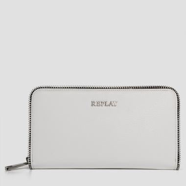 Saffiano faux leather wallet - Replay FW5141_000_A0283_001_1