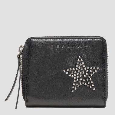 Wallet in washed leather - Replay FW5205_000_A3003D_098_1