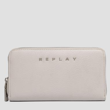 Gusset wallet with zipper - Replay FW5212_000_A0132D_020_1
