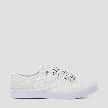 Sneakers con lacci bambina SAMOA LOW- REPLAY&SONS GBV08_000_C0108T_061_1