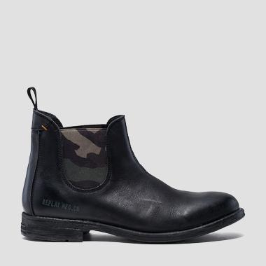 Men's HARTFILE leather chelsea boots - Replay GMC84_000_C0003L_003_1