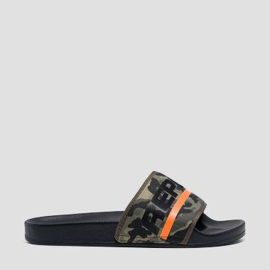 Men's CONCRETE sliders - Replay GMF1A_000_C0004T_2076_1
