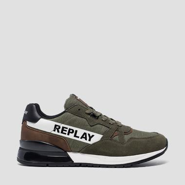 Sneakers homme FRIGHT à lacets - Replay GMS1C_000_C0008S_039_1
