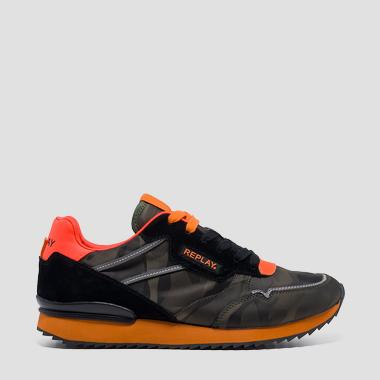 Sneakers homme CONTENT à lacets - Replay GMS68_000_C0024T_2510_1