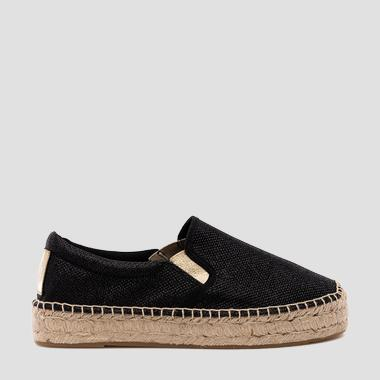 Women's LAWTON slip on espadrilles - Replay GWF22_000_C0026S_003_1