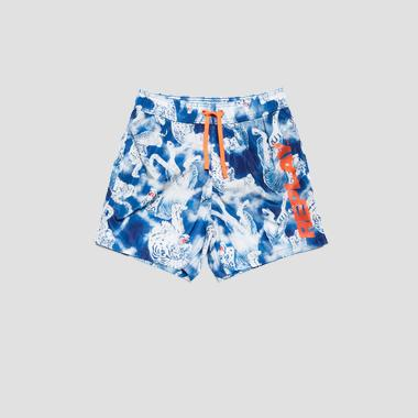 Replay swimming trunks with tiger print- REPLAY&SONS LB9501_000_72112_010_1