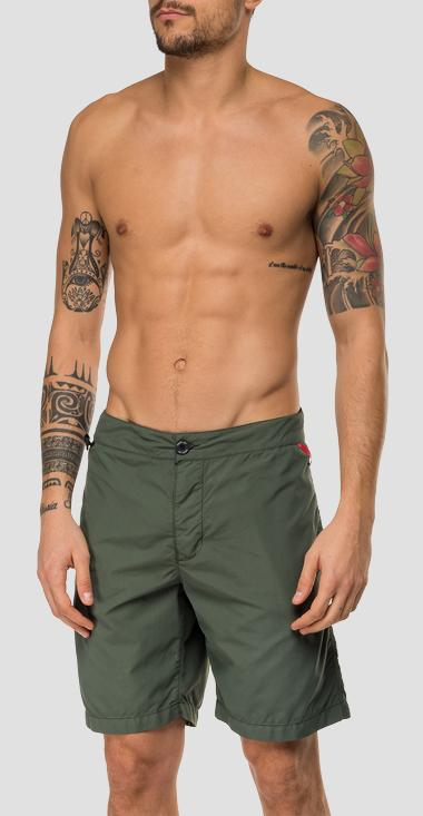 Replay swingman swimming trunks - Replay LM1070_000_83728_677_1