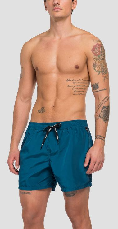 REPLAY swimming trunks with pockets and zipper - Replay LM1074_000_83218_193_1