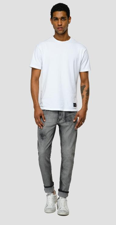 Skinny low crotch Organic Cotton Johnfrus jeans - Replay M1000_000_199-994_096_1