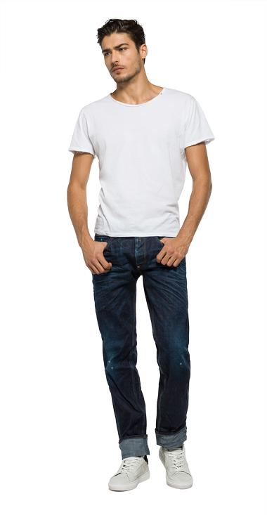 Made-in-Italy selvedge jeans - Replay M1001_000_46C-904_007_1