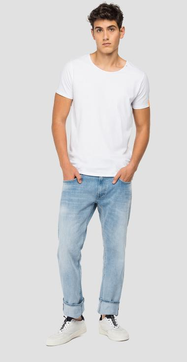 Straight fit Rocco jeans - Replay M1005_000_285-824_010_1