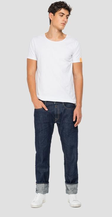 Straight fit Aged Eco 0 year Organic Rocco jeans - Replay M1005_000_356-846_007_1
