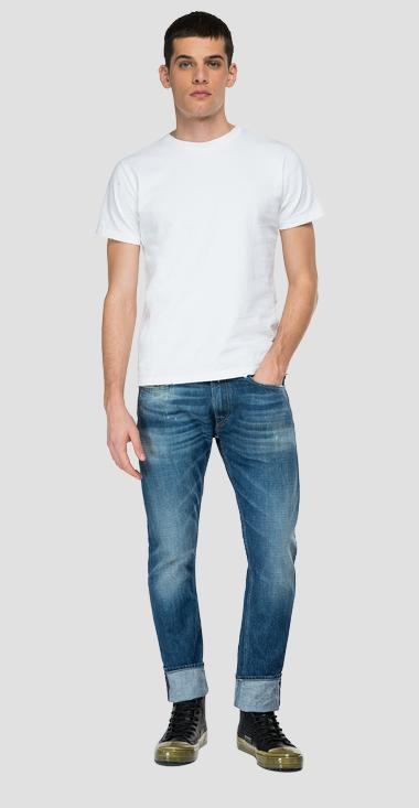 Comfort fit Aged Eco 5 Years Rocco jeans - Replay M1005_000_356-964_009_1