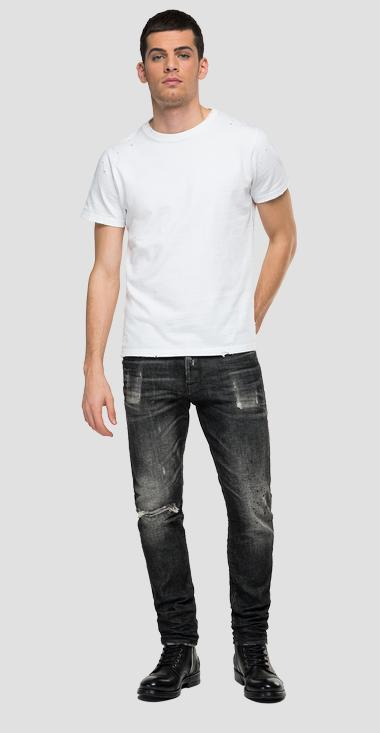Tapered fit Broken Edge Tinmar jeans - Replay M1006E_000_501-996_096_1