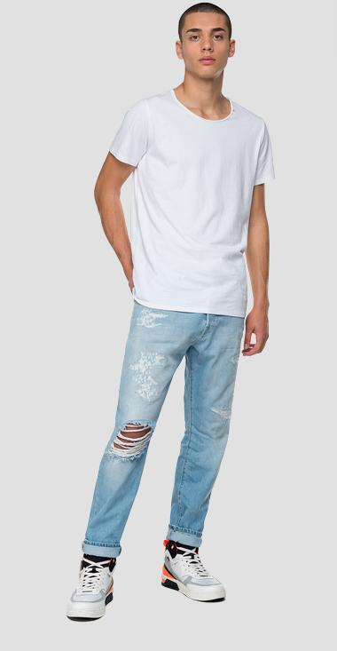 Tapered Fit Jeans Tinmar - Replay M1006F_000_108666R_011_1