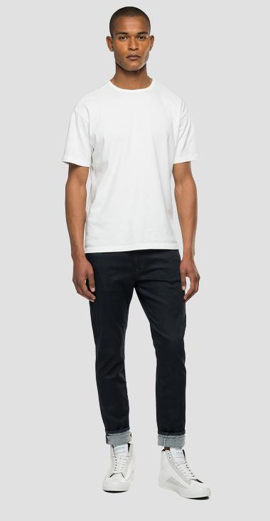 Regular slim fit Hyperflex Re-Used X.L.I.T.E. Replay Tailored jeans - Replay M1019_000_661-Z49_007_1