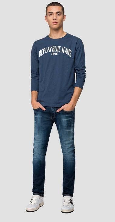 Long-sleeved REPLAY t-shirt - Replay M3008_000_2660_971_1