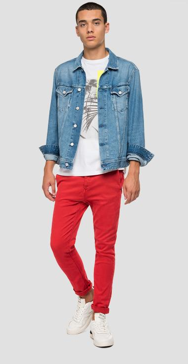 Regular fit denim jacket - Replay M301_000_108-686_010_1