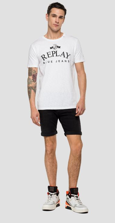 Slub jersey REPLAY t-shirt - Replay M3033_000_22336G_001_1