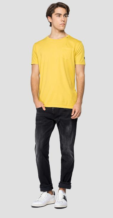 REPLAY cotton t-shirt with pocket - Replay M3052_000_22810G_549_1