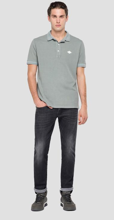 REPLAY cotton polo shirt - Replay M3070_000_22696G_092_1