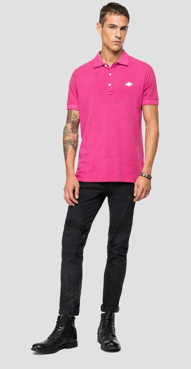 REPLAY cotton polo shirt - Replay M3070_000_22696G_514_1