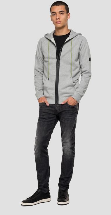 Cotton hoodie - Replay M3084_000_21842_M05_1