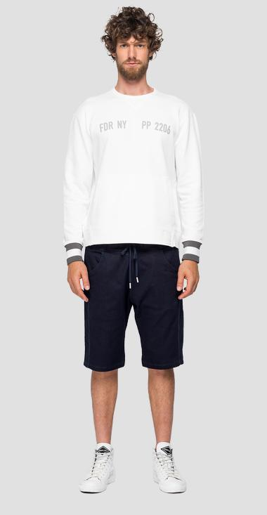 REPLAY SPORTLAB crewneck sweatshirt - Replay M3122_000_S22906G_801_1