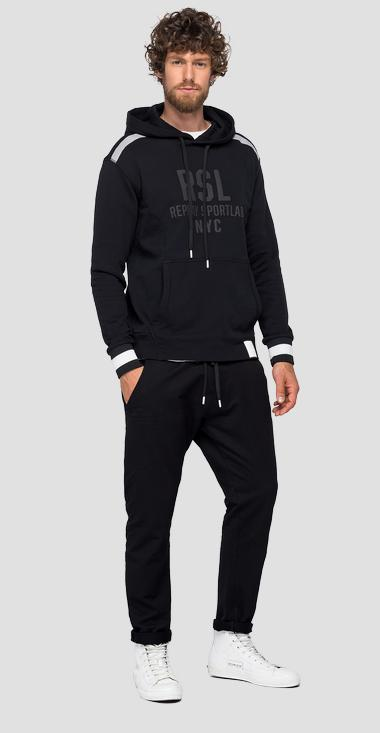 REPLAY SPORTLAB hoodie - Replay M3123_000_S22906G_098_1