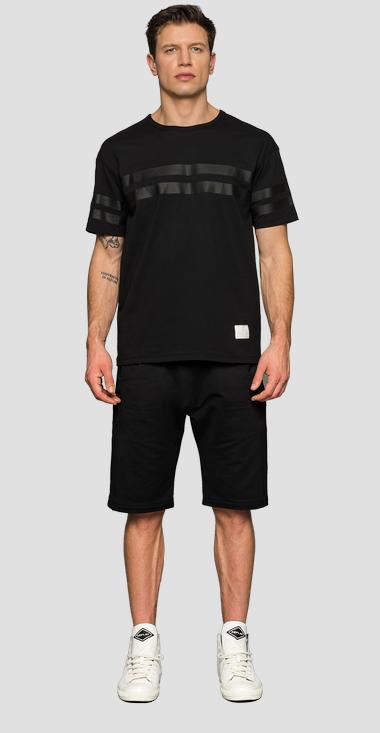 REPLAY SPORTLAB Skatepark t-shirt - Replay M3128B_000_S22740E_098_1