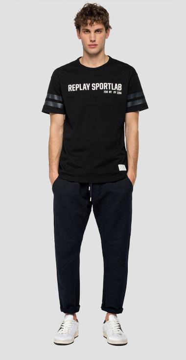 REPLAY SPORTLAB cotton t-shirt - Replay M3128C_000_S22740P_098_1