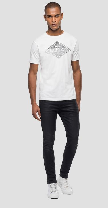 Camiseta de Organic Cotton con estampado - Replay M3140_000_23046P_012_1