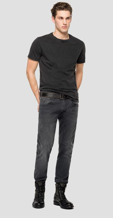 Cotton jersey t-shirt - Replay M3150_000_22658M_099_1
