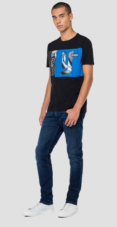 Regular Fit T-Shirt mit REPLAY-Aufdruck - Replay M3159_000_2660_098_1