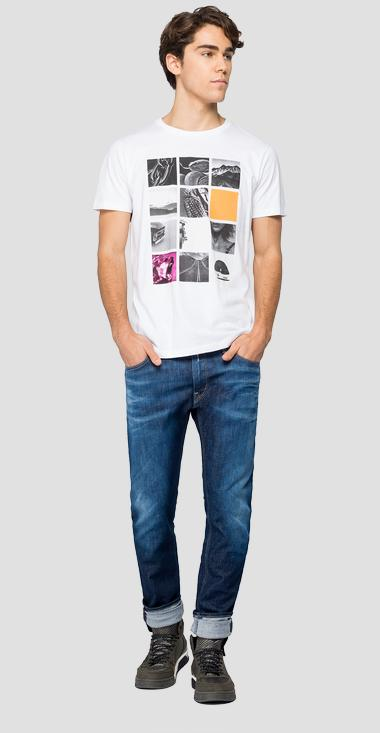 T-shirt con stampa foto - Replay M3160_000_2660_001_1