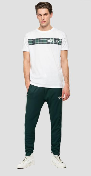 REPLAY t-shirt with checked print - Replay M3161_000_2660_001_1