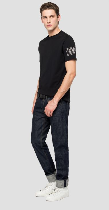 T-shirt in jersey REPLAY JEANS - Replay M3179_000_22980P_098_1