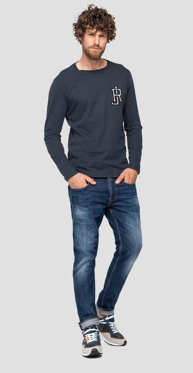 REPLAY JEANS-T-Shirt aus reiner Baumwolle - Replay M3198_000_22982P_088_1