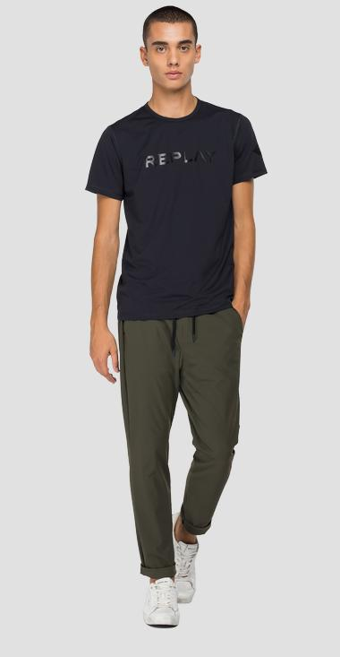 Solid-coloured Evoflex t-shirt - Replay M3211_000_20643_098_1