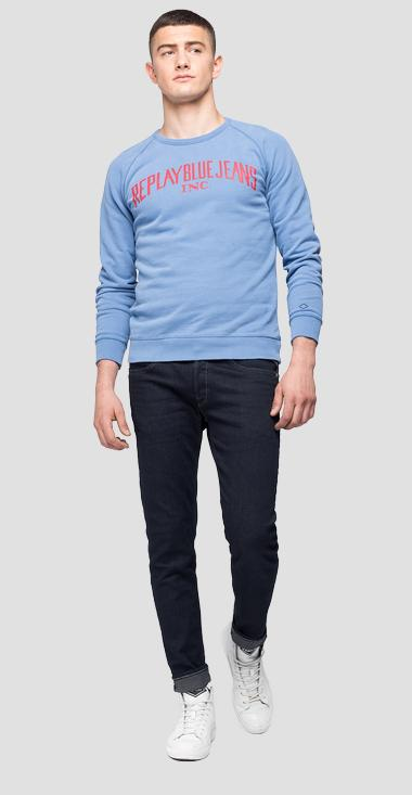 REPLAY BLUE JEANS crewneck sweatshirt M3231_000_22890CS_276_1