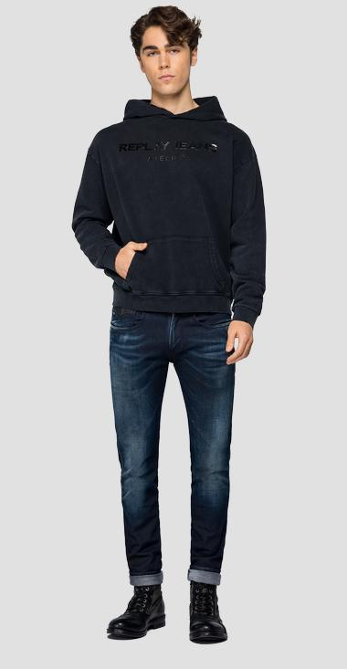 REPLAY JEANS ATELIER sweatshirt - Replay M3239_000_22738LM_098_1
