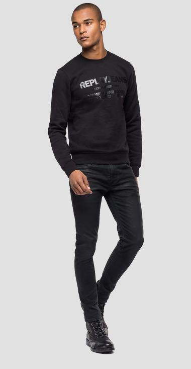 Sweatshirt with REPLAY JEANS print - Replay M3245_000_22706_098_1