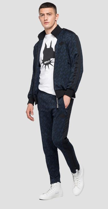 REPLAY sweatshirt with jacquard print - Replay M3256_000_52356_020_1