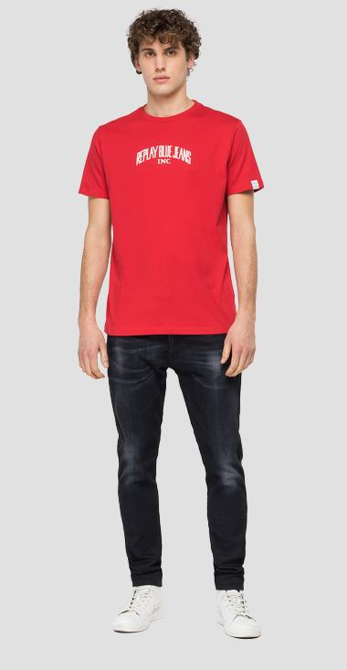 T-Shirt aus Biobaumwolle REPLAY BLUE JEANS - Replay M3390_000_23046P_558_1