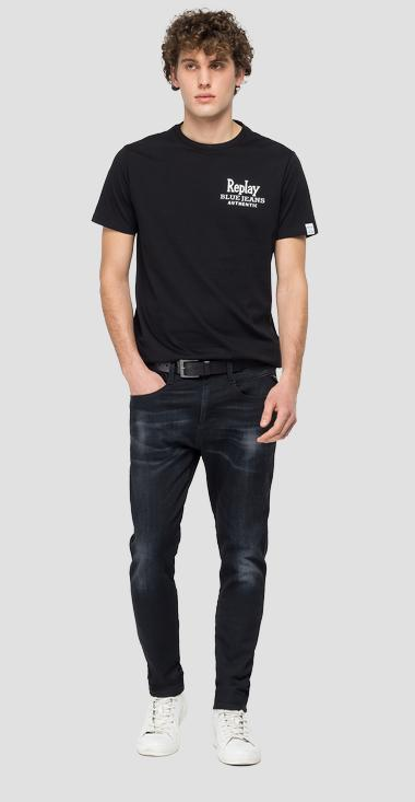 T-Shirt aus Biobaumwolle REPLAY BLUE JEANS - Replay M3392_000_23046P_098_1