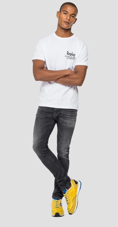 REPLAY BLUE JEANS organic cotton t-shirt - Replay M3392_000_23046P_801_1