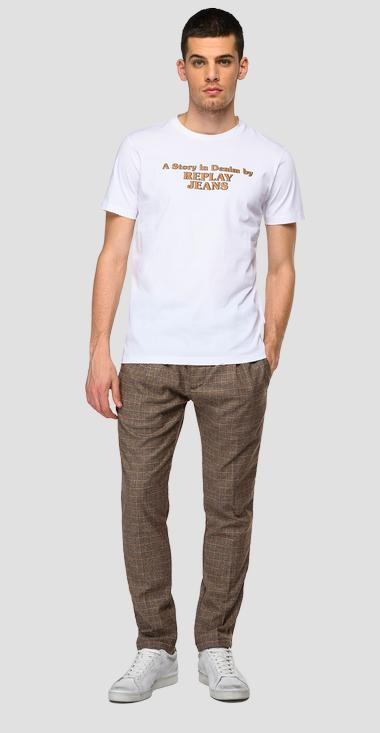 T-shirt effetto used REPLAY JEANS - Replay M3460_000_22980P_001_1